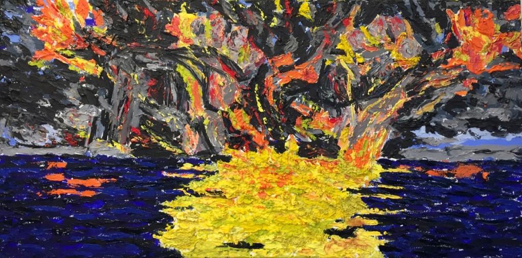 Hubris, oil on canvas