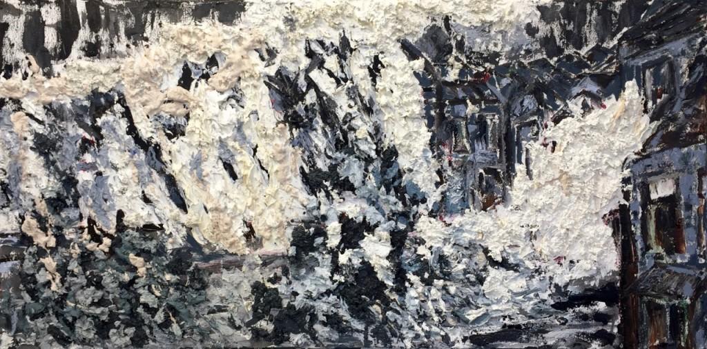 Wrath, oil on canvas